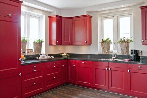 Keukenstijlen vind hier de meeste keukenstijlen avanti - Aardewerk rode keuken ...