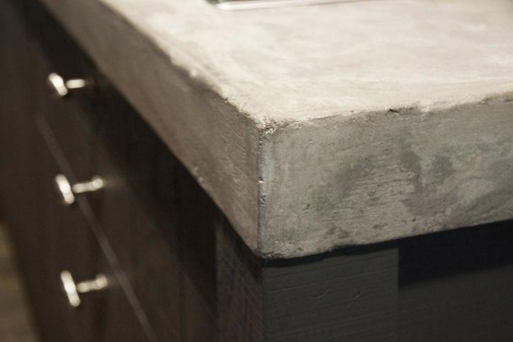 Witte Keuken Beton Blad : Betonnen aanrechtblad. Maak uw keuken stoer ...