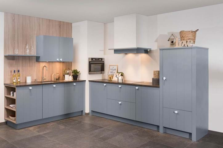 Moderne Blauw Keuken : Houten keukens in elke stijl en opstelling avanti