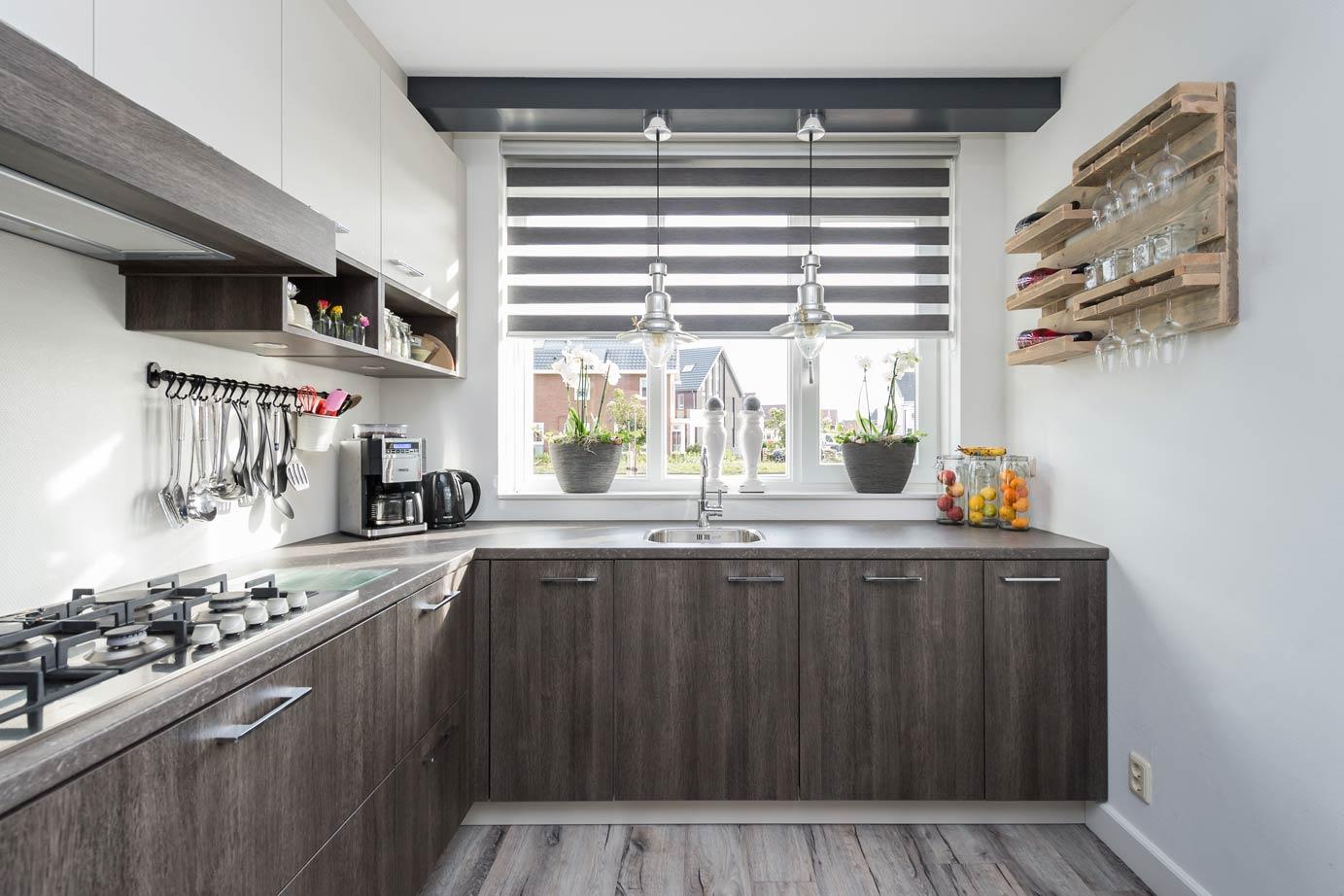 Keuken Landelijk Ramen : Keuken u landelijk u boograam u keukeneiland u natuursteen u foto